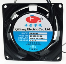 good characteristics axial flow fan 80mm 220 volt ac fan with ROHS, CE certified industrial fans