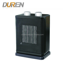 Black Electric Heater With PTC Heating Element PTC907Y-H