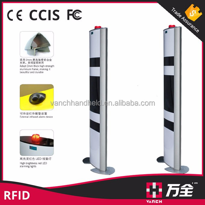 TCP/IP ISO-18000-6C UHF RFID Gate Reader for Library Access Control