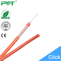 Famous Cable Manufacturer 10 Years Experience Pure Copper RG59 CCTV Cable