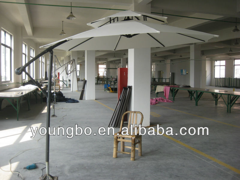 THE NE!! double layer steel banana parasol/umbrella