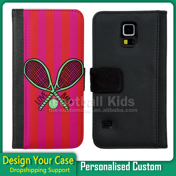 Free Sample Mobile Phone Case Accessories Custom Leather 2D Sublimation Cell Phone Case For Samsung s5