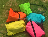 Wholesale Light weight and easy to carry inflatable banana sleeping bag