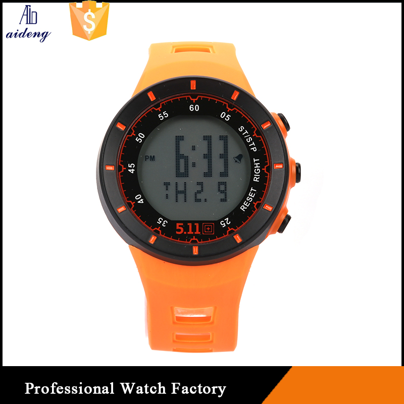 Digital rubber adults kids silicone slap led sports watches