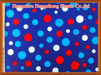 PU Coated Polyester Printed Oxford Fabric