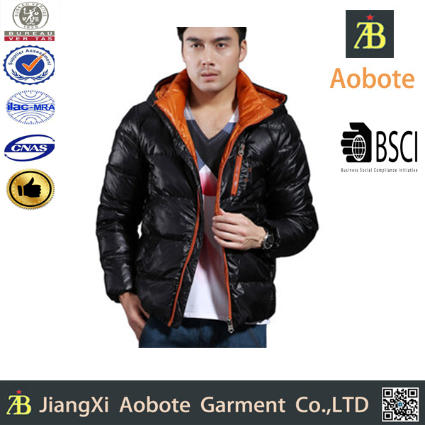 OEM Manufacture Customized Outdoor Men Dress Winter Clothing Down Jacket
