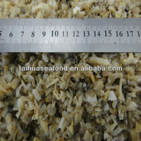 frozen small clam meat