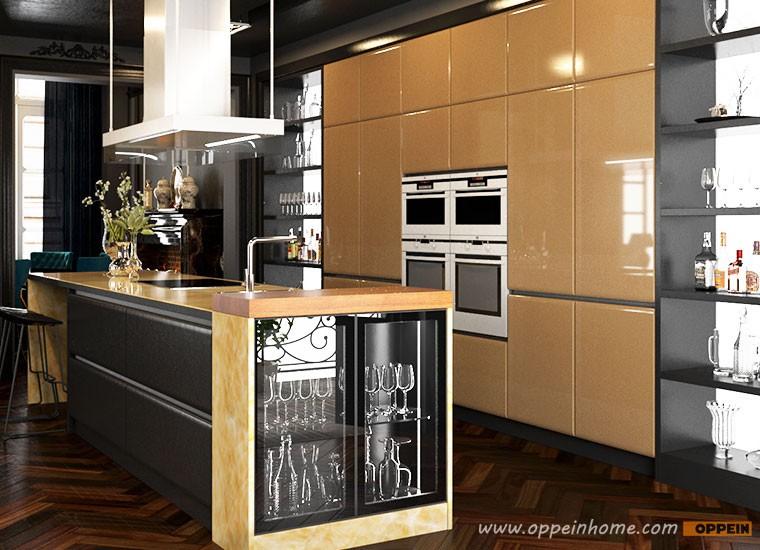 Italian design guangzhou manufacturer modern social for Modern kitchen manufacturers