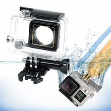 Gopros Protective Shell 45M Underwater Diving Housing Waterproof Case for <strong>Gopro</strong> 4 3+