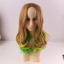 Fashion Charming Wholesale Woman Synthetic Lace Front Layered Wigs