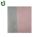 Attractive appearance leather substrates nonwoven production