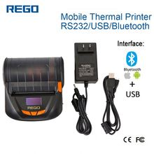 80mm Portable Thermal QR Code Printer For Label