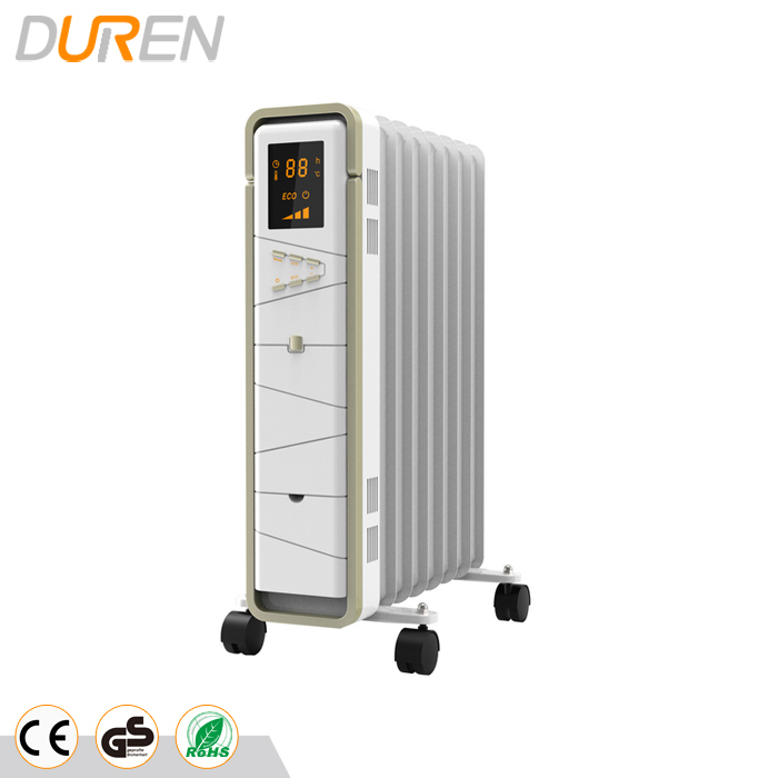 Home use Oil free radiator heater with many functions