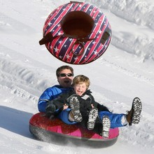 2015 inflatable snow tube sled sledge for 2 persons