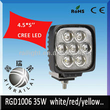 35w 2300-2500LM 9-32v 12v led off road lamp RGD1006 motorcycle led working light,atv suv led working lamp