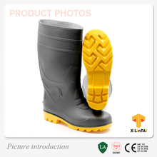 Factory price CE PVC Safety Footwear Gumboots