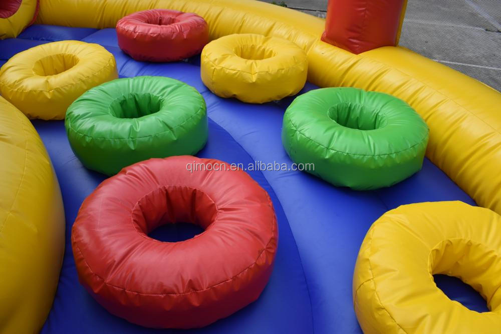Giant inflatable obstacles course , Commercial inflatable obstacle course , inflatables obstacles course for sale