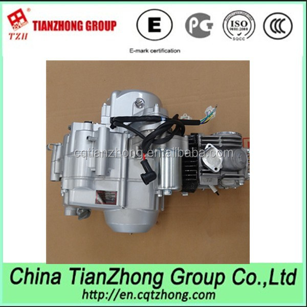 Tianzhong Brand Chinese Chopper Motorcycle 125cc Engine 4 Stroke Air Cooled One Cylinder