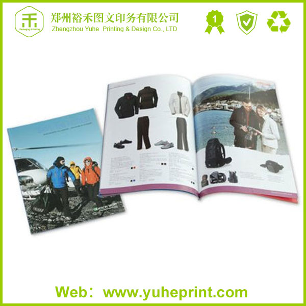 China-made high quality competitive price free design printing rifle magazine with glue binding