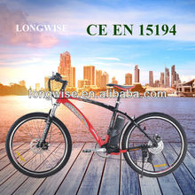 Elektro-Fahrrad new version electric mountain bike pedelec e bike front suspension 250W