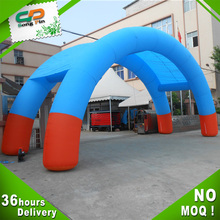 logo printing inflatable product double arch for event