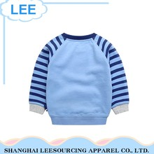 Newest Arrival Breathable Blue Children French Terry Sweatshirt