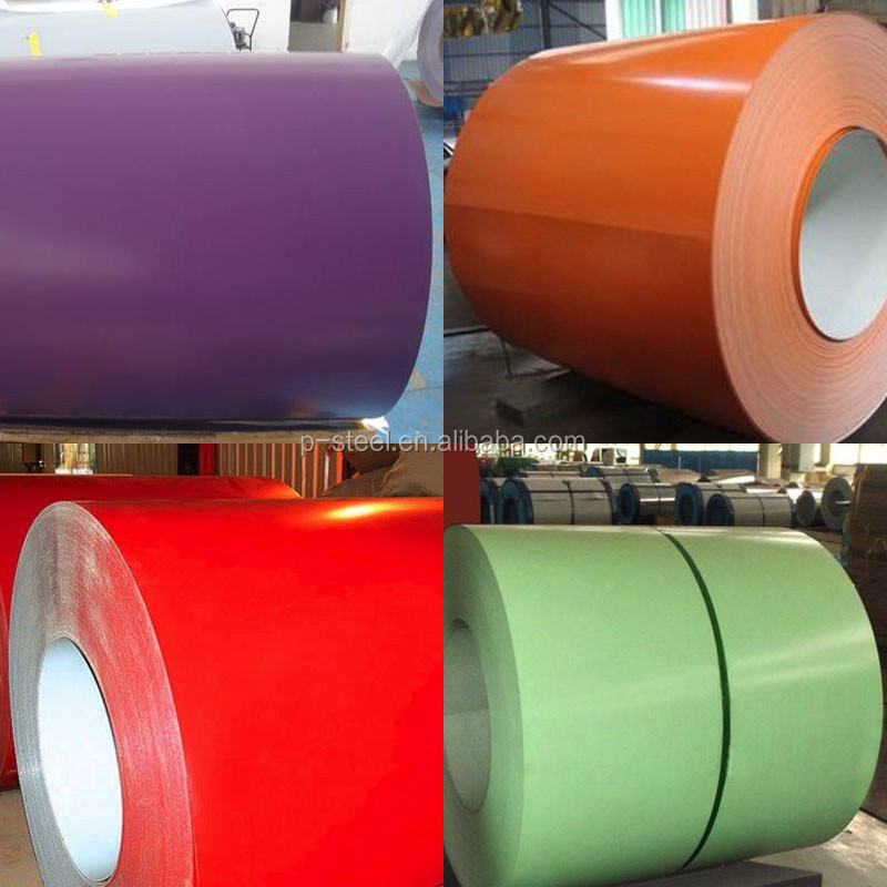 PPGI Coils, Color Coated Steel Coil, Ral White Prepainted Galvanized Steel Coil Z275/Metal Roofing Sheets Building Materials