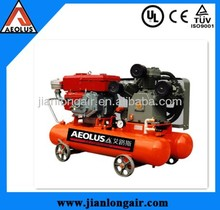 20HP 7bar portable diesel air compressor for mining with CE