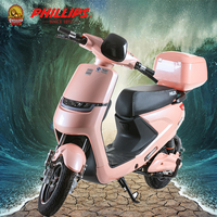 PHILLIPS 2017 citycoco china mini 2 seat cheap vespa e-scooter new style fat tire mobility electric scooter 2000w for adults