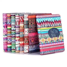 Tribal Pattern 360 Rotating Elastic Belt Flip Stand PC+PU Leather Housing for iPad Air 2