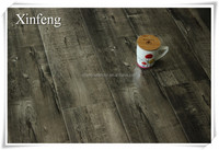 8mm black laminate flooring with glossy surface