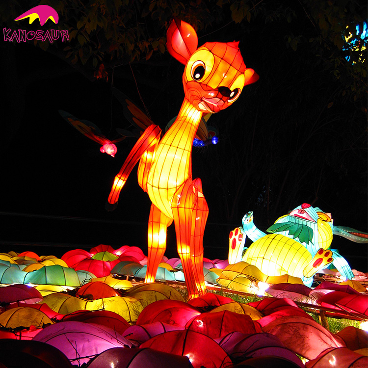 KANO0344 Chinese Animal Zoo Lantern For Sale creative animal lantern