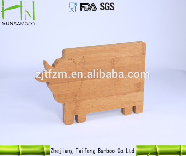 hot-selling animal shaped cutting board