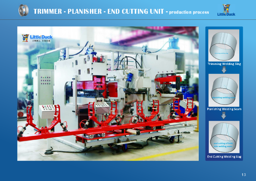 Trimming Machine / Planishing Machine / End Cutting Machine