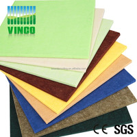 Colorfully Polyester Fiber Panels, Soundproofing Lowes