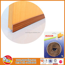 door rubber seal/Brown door strip/adhesive weatherstripping for door