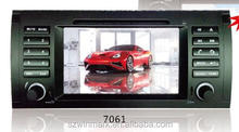 Best-selling DJ7062 7'' 1din TFT HD touch screen special car auto radio player for BMW 3series E46(1999-2006)