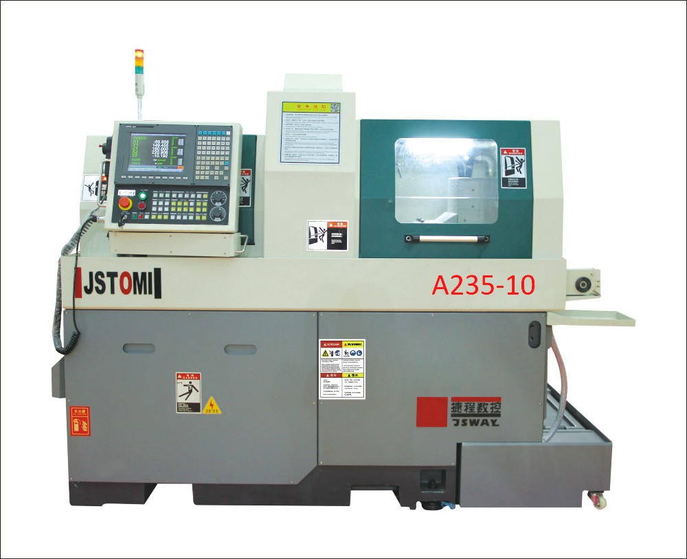 Horizontal Type High precision Swiss Type Small CNC A235-10/11 lathe