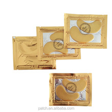 hot sale high product 24K collagen crystal gold eye mask anti-wrinkle moisture crystal collagen eye bag mask