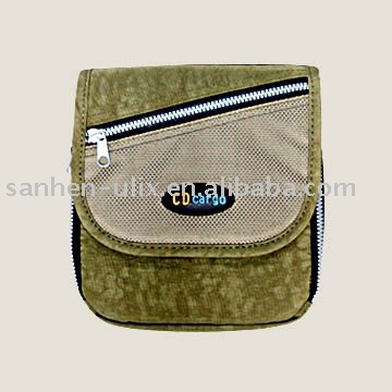 CD Cargo for Travel Case with Zipper for Portable CD Player