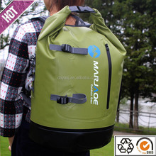 Chinese manufacturer is specializing in the production 500D pvc tarpaulin waterproof dry bag backpack 28l