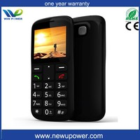 elderly people simple OEM design senior cellular phone with SOS function