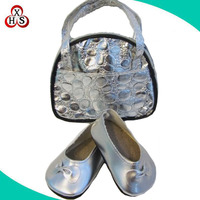 Fashion Silver color shoes accessories for american girl dolls
