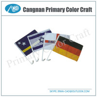 High Quality magnetic car flag car window flag Car Flag