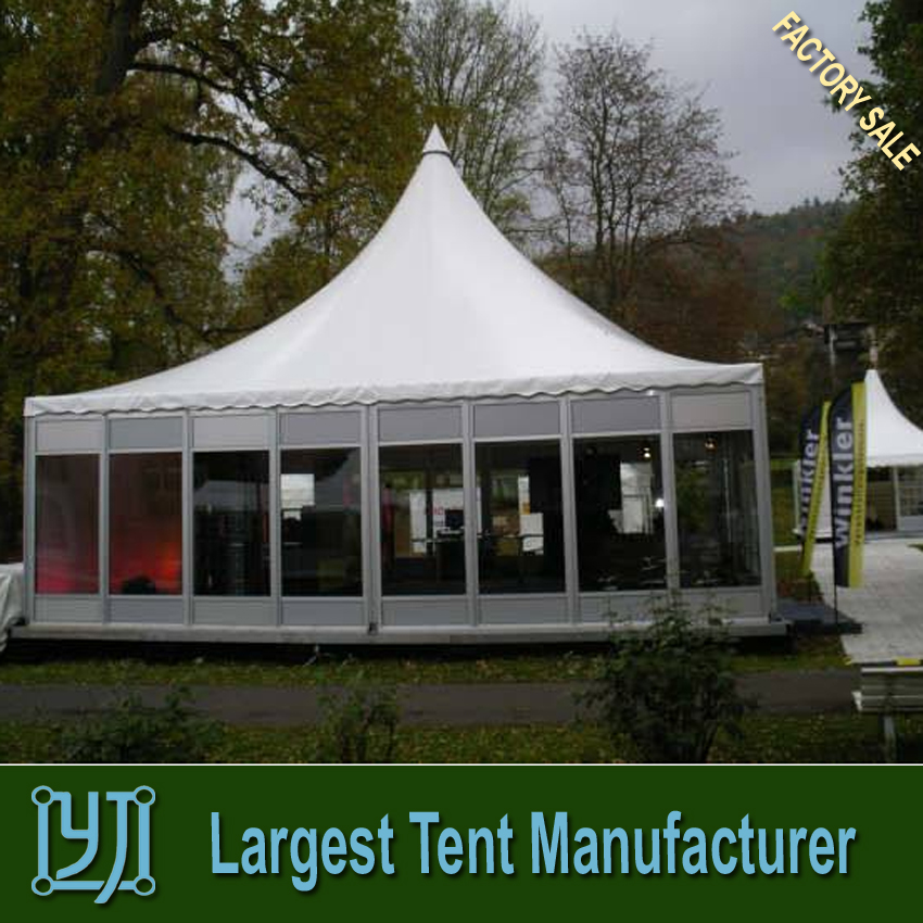 10x10 pagoda tent with high peak