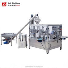 rotary pouch filling sealing machine powder