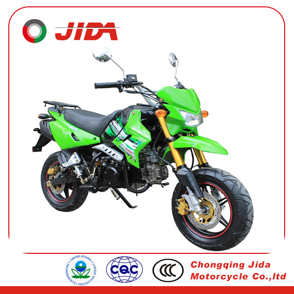 yellow 49cc mini dirt bike JD125-1