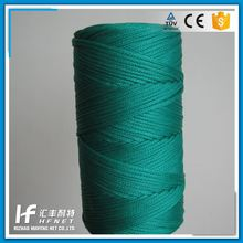 China Manufacturer Braided 16mm Polyester Multifilament Rope Braided Rope