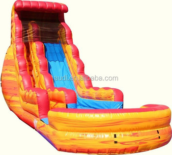 wholesale the fire n ice water slide/inflatable slide