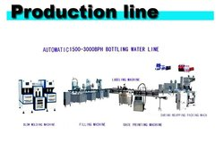 Automatic pure water/mineral water small bottle production line
